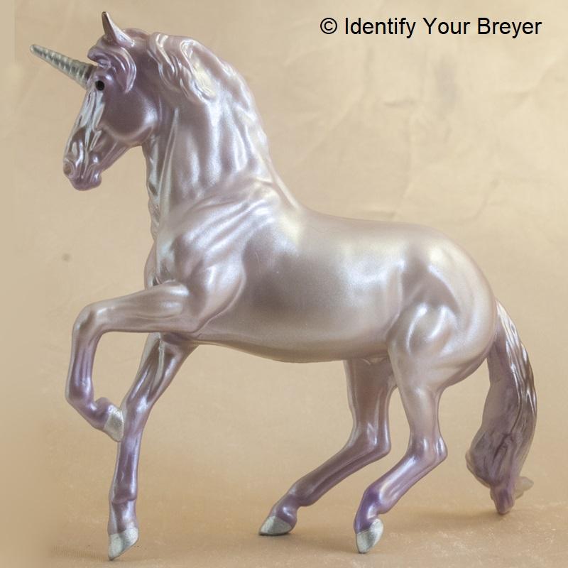 Breyer Clearwear Alborozo unicorn stablemate