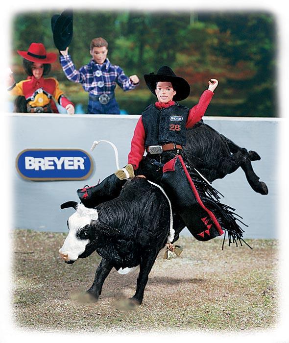 Identify Your Breyer Bucking Bull
